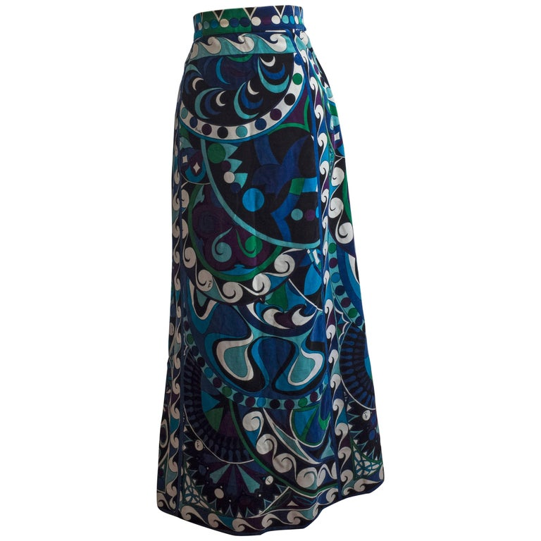 1960s Emilio Pucci Skirt For Sale