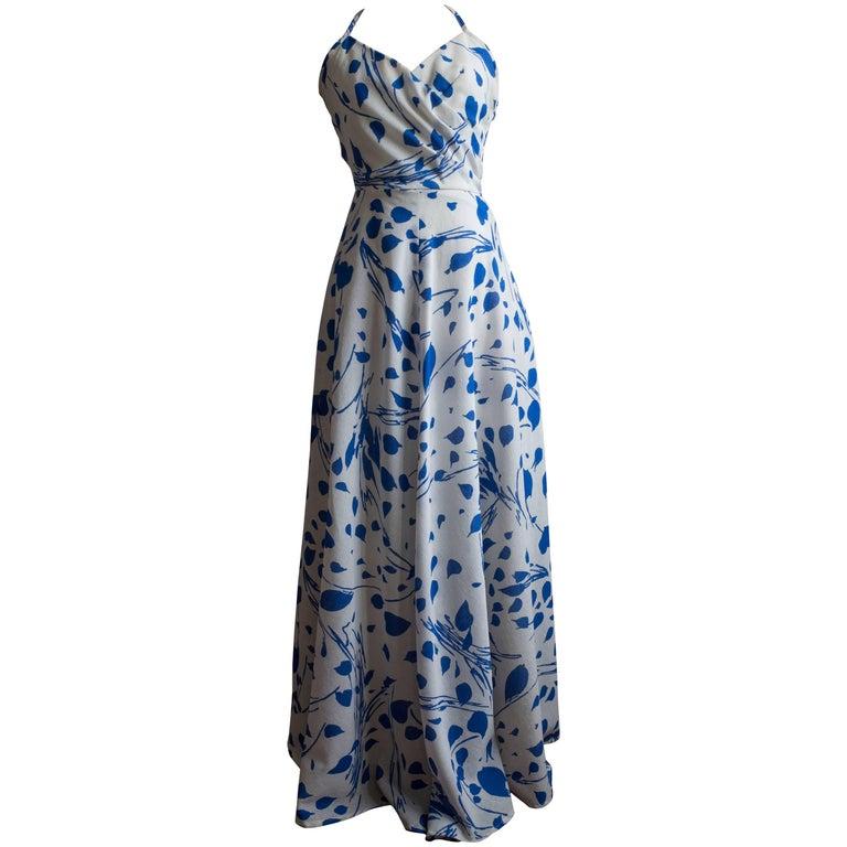 1960s Halter Dress by Jean Allen For Sale