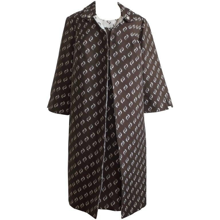 1960s Dress and Coat Set