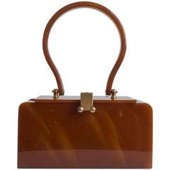Lucite Vintage Handbag Purse, 1950s