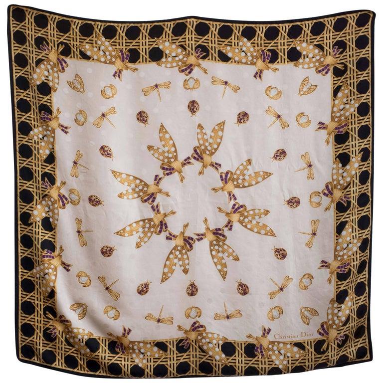 Christian Dior Jewel Scarf