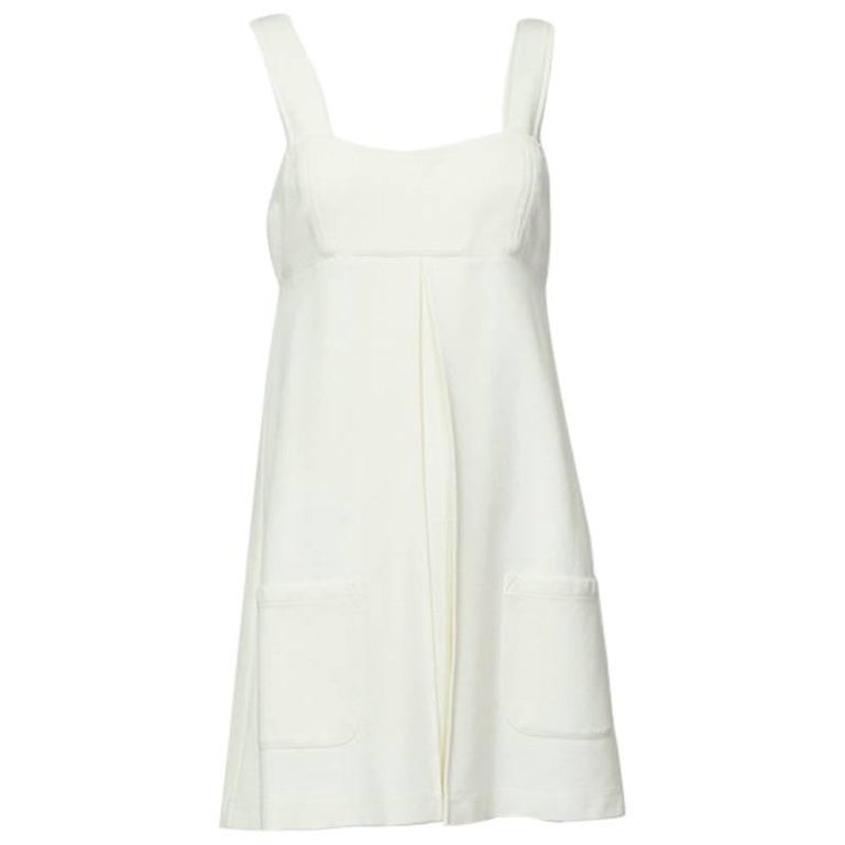 DVF Empire Pinafore Tunic with Patch Pockets, 21st Century