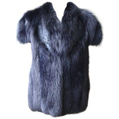 Antonio Berardi Fox Fur Vest Jacket
