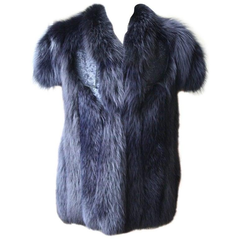 Antonio Berardi Fox Fur Vest Jacket