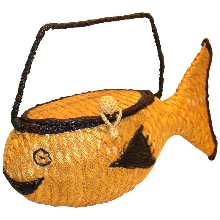 Rosenfeld Figural Purse Fish Italy, 1960s