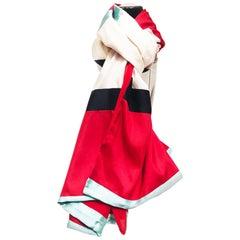 1990s Charles Jourdan silk scarf