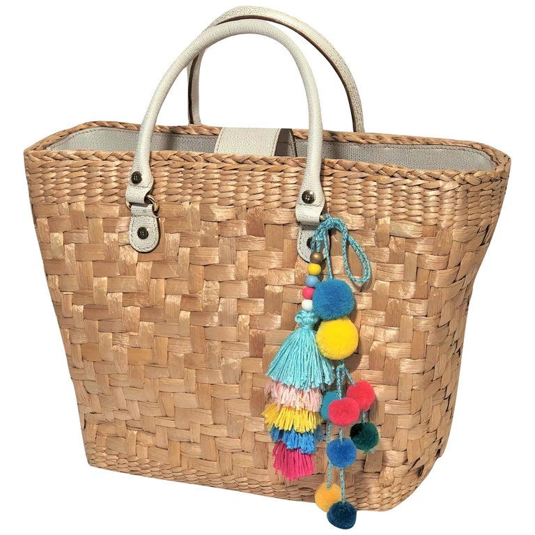 Kate Spade Large Wicker Tote, Spring 2005 Collection