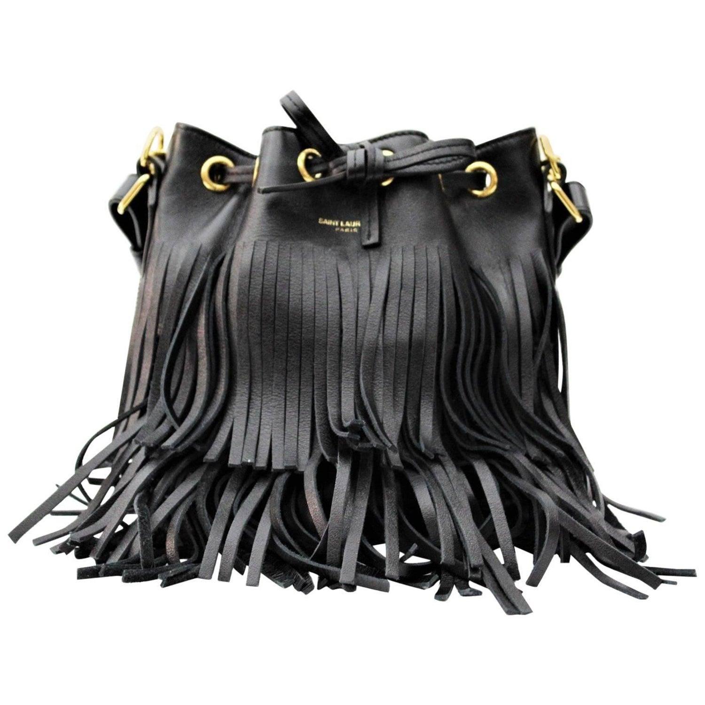 0de7620f18 SAINT LAURENT Small  Emmanuelle  Bucket Bag at 1stdibs