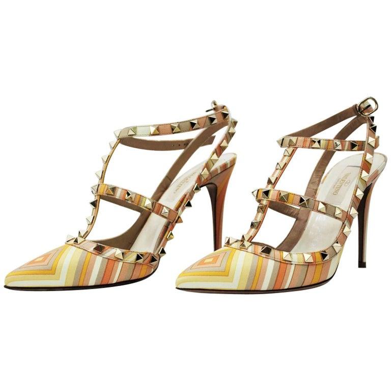 4b05bdb1affc Valentino Garavani Decollètè Ankle Strap Rockstud For Sale at 1stdibs