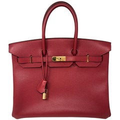 Hermes Birkin 35 Red