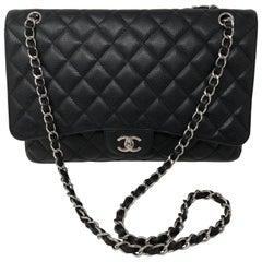 Chanel Black Caviar Maxi