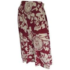 Pierre Cardin Paris silk skirt