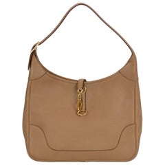 Hermes Trim Shoulder Bag Light Brown Bag