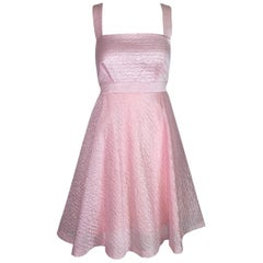 Versus Gianni Versace Bubblegum Pink Barbie A-Line Mini Dress, 1992