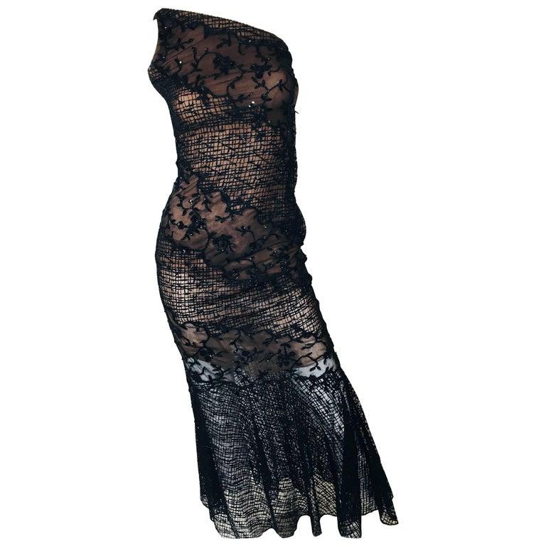 Oscar de la Renta Embellished Gown