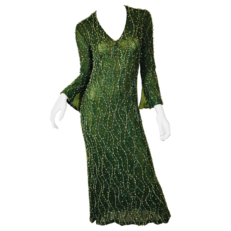 Douglas Hannant Embellished Gown