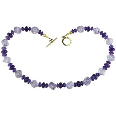 Amethyst Light and Bright  Necklace