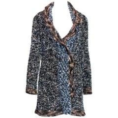 Chanel Lesage Fringed Fantasy Tweed Jacket Coat