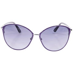 Purple Tom Ford Penelope Sunglasses