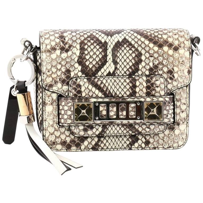 Proenza Schouler PS11 Crossbody Bag Python Tiny
