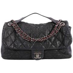 Chanel In the Mix Flap Bag Quilted Iridescent Calfskin With Glazed Calfskin