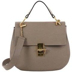 Chloe Drew Shoulder Bag Leather Medium