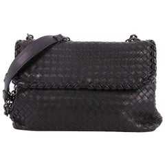 Bottega Veneta Olimpia Crossbody Bag Intrecciato Nappa Medium