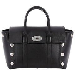 Mulberry Bayswater Satchel Leather with Studded Detail Small