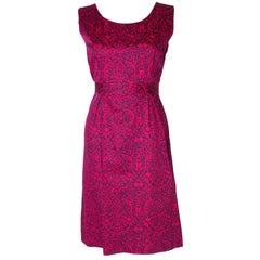 A Vintage 1960s Cresta Couture Dress
