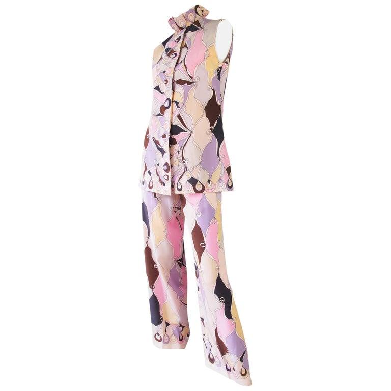1960s Silk Pucci Set