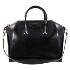 Givenchy Antigona Bag Glazed Leather Medium