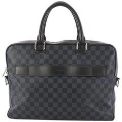 Louis Vuitton Porte-Documents Damier Cobalt Business Bag