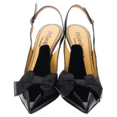 New Tom Ford for Yves Saint Laurent YSL Bow Heels Pumps