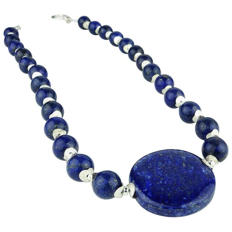 Lapis Lazuli Necklace For Sale