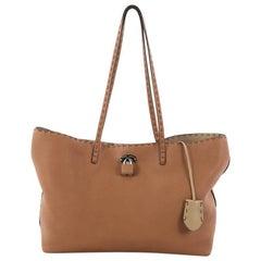 Fendi Selleria Carla Tote Leather Small
