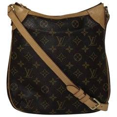 Louis Vuitton Monogram Odeon PM Crossbody Shoulder Handbag