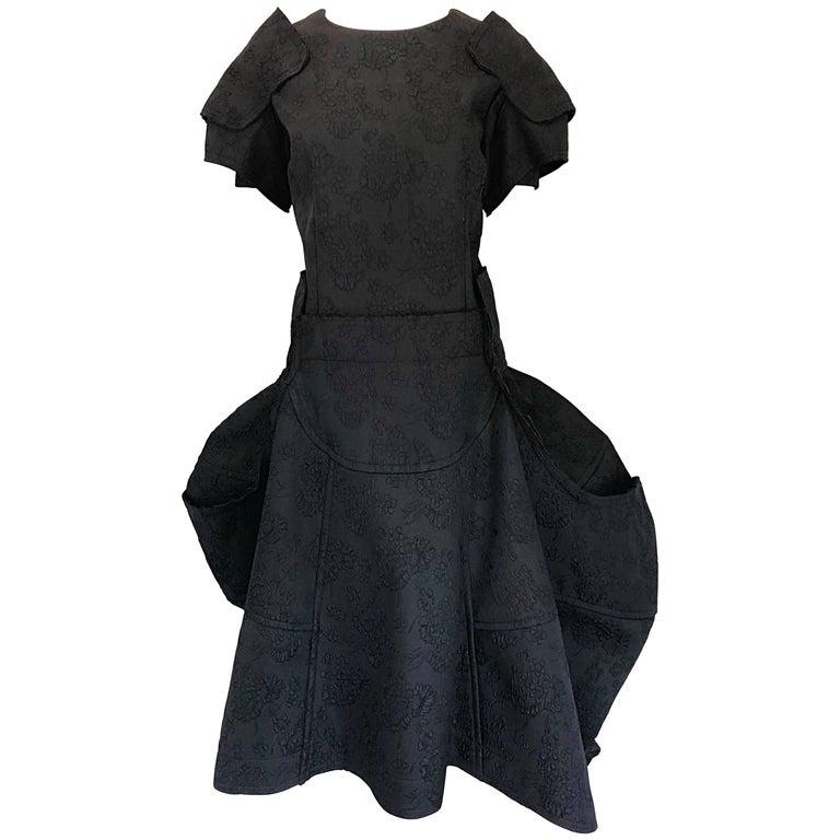 Comme Des Garcons Samurai 2016 Collection Black Avant Garde Collectible Dress