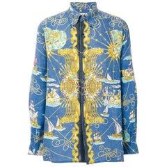 Hermes Man Linen Shirt