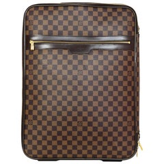 Louis Vuitton Damier Ebene Canvas Pegase 55 Rolling Luggage Travel Bag