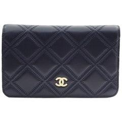 Chanel Blue Leather Crossbody/Shoulder Flap Bag