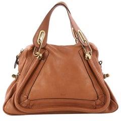 Chloe Paraty Top Handle Bag Leather Medium