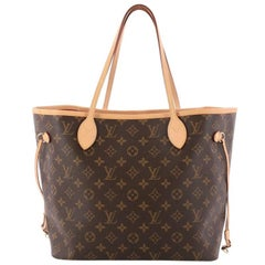 Louis Vuitton Neverfull NM Tote Monogram Canvas MM