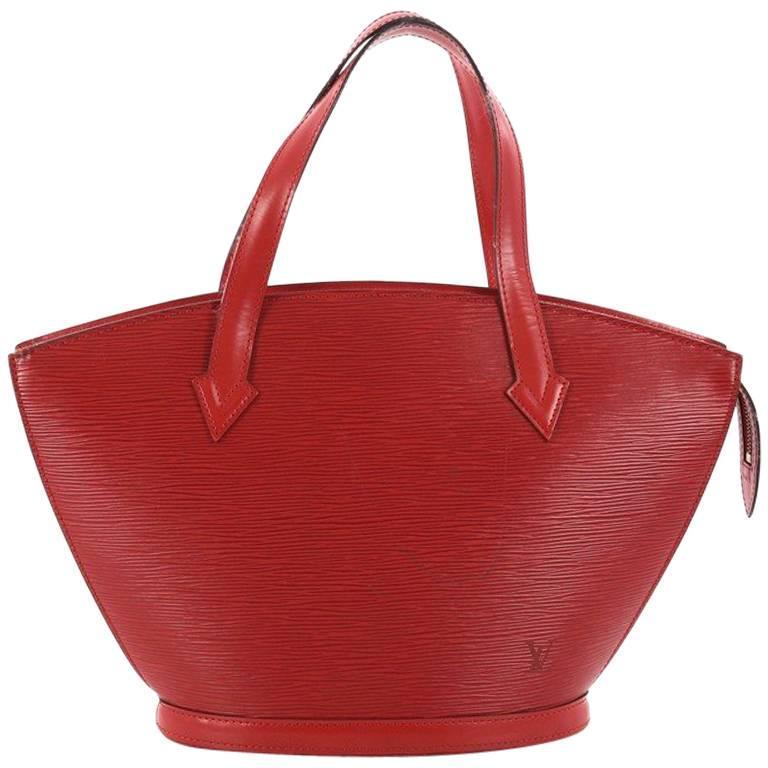 42345177 Louis Vuitton Saint Jacques Handbag Epi Leather PM