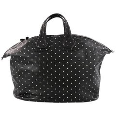 Givenchy Nightingale Satchel Printed Leather XL