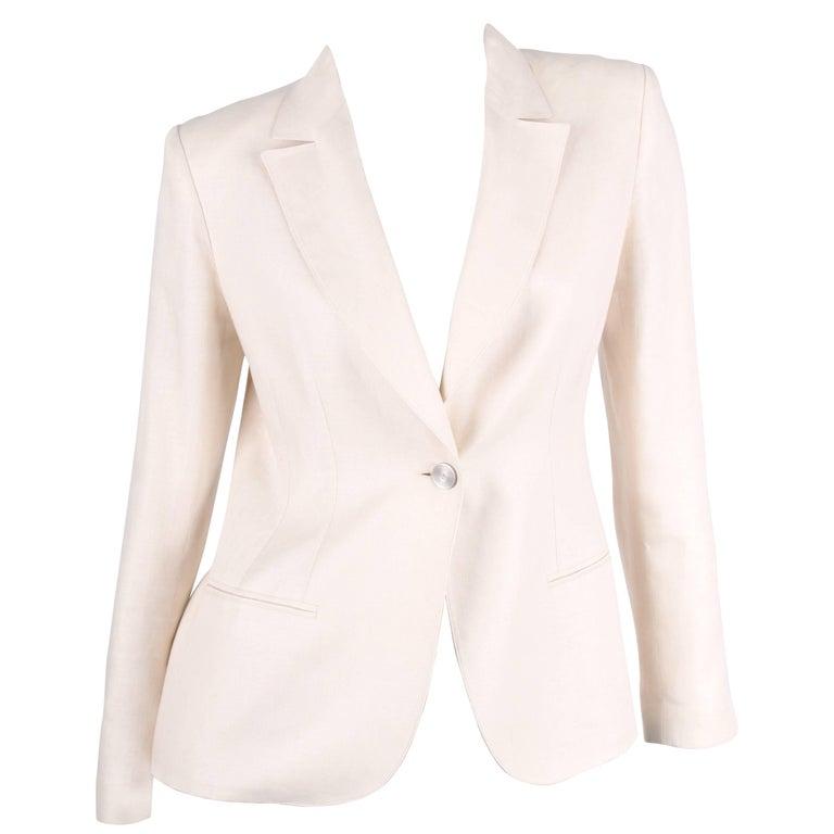 Chanel Linen Jacket - beige