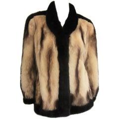 Fitch & Mink Soft Supple Fur Jacket Coat