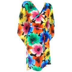 Love Moschino Silk Kaftan / Dress