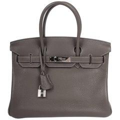 Hermès silver-tone hardware Birkin 30 Bag