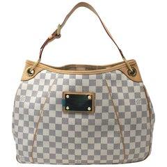 Louis Vuitton Galliera PM Damier Azur Handbag in Dust bag
