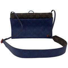 Louis Vuitton Pacific Blue Outdoor Pouch Crossbody